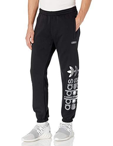 adidas Originals Pantalones deportivos de granja para hombre - negro - X-Large
