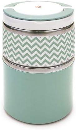 Termo Lunchbox Sólidos 900 ml. inoxidable Verde