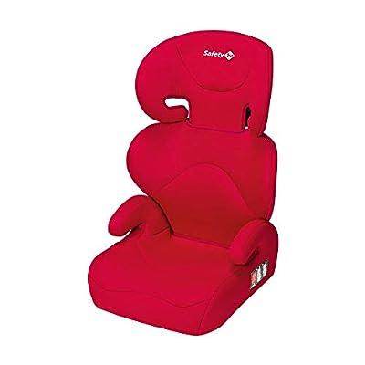 Safety 1st Road Safe Silla de coche grupo 2/3, reclinable en 2 posiciónes, Fácil y rápida de instalar con cinturón de seguridad, color Rojo