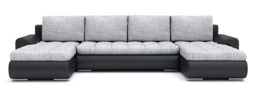 Sofini Ecksofa Tokio III mit Schlaffunktion! Best ECKSOFA! Couch mit Bettkästen! (Lawa 9+ Soft 11)