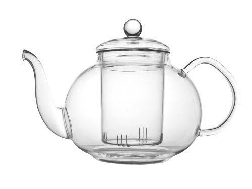 Verona einwandige Glas-Teekanne 1L inkl. Filter