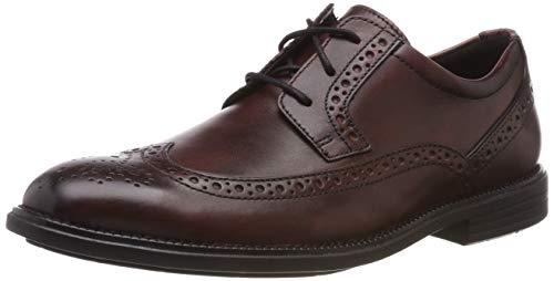 Rockport Madson Wingtip, Zapatos de Cordones Brogue para Hombre, Marrón, 46 EU
