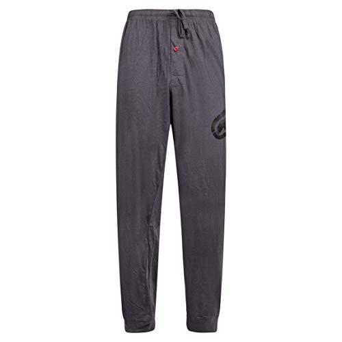 Ecko Unltd. Knit Solid Men's Sleepwear Jogger Pants (Charcoal, Large)…
