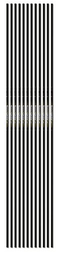 Carbon Express Nano SST, Ultra-Slim Recurve Carbon Target Arrow Shaft (Designed for FITA, NAA and NFAA), 12-Pack