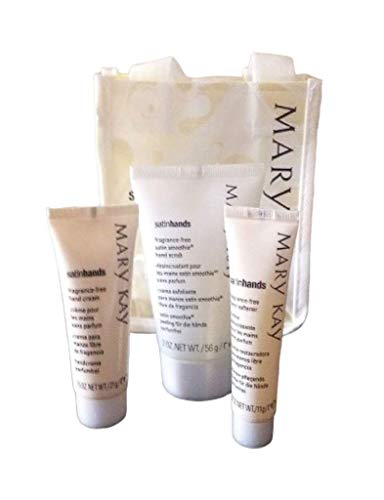 Mary Kay Satin Hands Travel Size Pampering Set in Gift Bag
