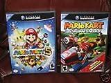 Nintendo GameCube MARIO KART: DOUBLE DASH and MARIO Party 5 VIDEO GAMES Combo!!! Gamecube Version