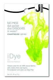 Jacquard iDye Natural Fiber Fabric Dye - Chartreuse