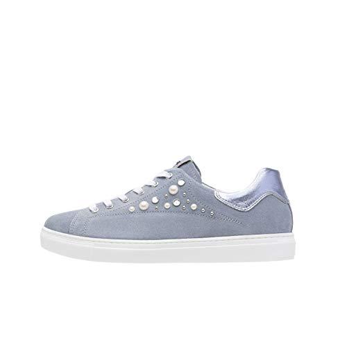 Nero Giardini P907573D Sneakers Donna in Pelle E Camoscio - Stella 37 EU