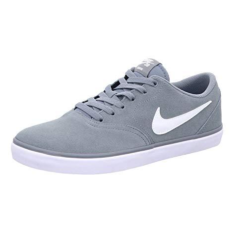 Nike Sb Check Solar Skateboardschuhe, Grau (Cool Grey/White 005), 38 EU