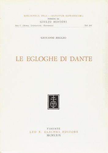 Le egloghe di Dante