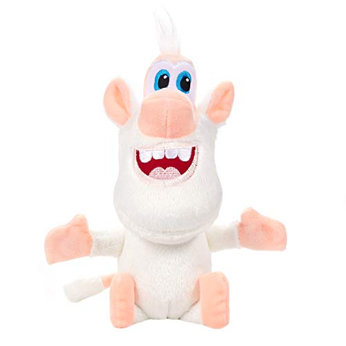Russian Cartoon White Pig Plush Doll Toys Booba Buba 10 inch