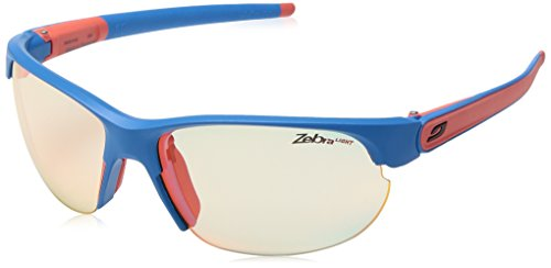 JULC5 Julbo Breeze Sonnenbrille, Damen, Breeze, Bleu Mat/Corail