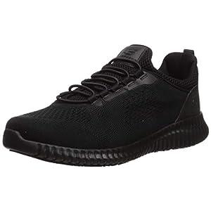 Skechers Men's Cessnock Food Service Shoe, Black, 11 M US