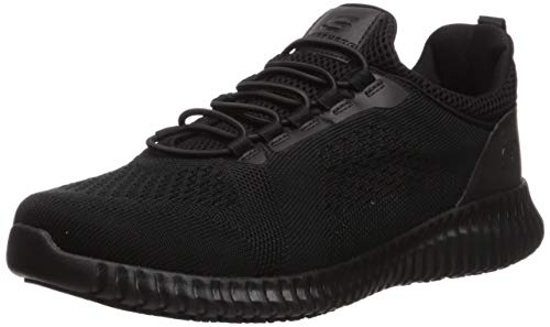 Skechers Men's Cessnock Shoe, Black, 8 W US