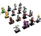 Frame Containing Genuine Complete Lego Collectible Minifigures Series 14 (Monsters) 71010