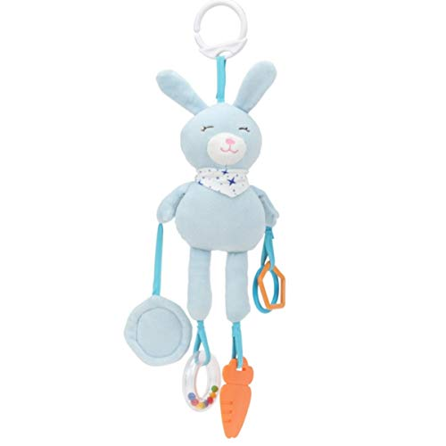 NUOBESTY 1pc Portable Cartoon Practical Durable Cute Plush Hanging Hanging Toy Crib Hanging Toy for Baby Infant Toddler