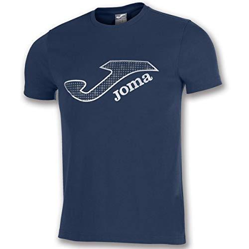 Joma Marsella Camisetas Equip. M/C, Hombre, Marino, S