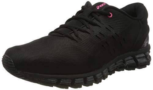 Asics Gel-Quantum 360 4 1021a146-001, Zapatillas de Entrenamiento para Hombre, Negro (Black 1021a146/001), 42 EU