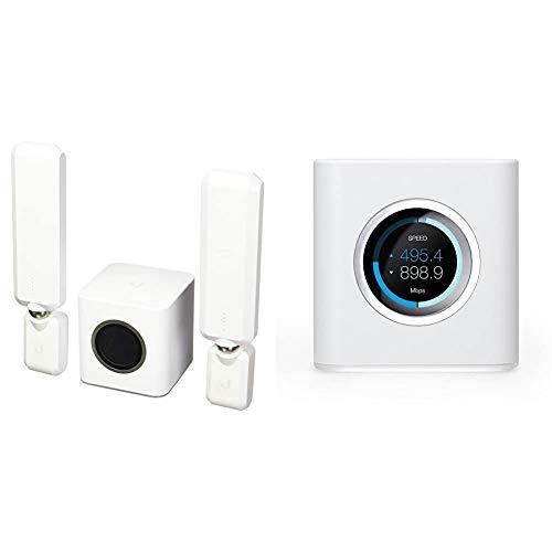 Ubiquiti Amplifi Home Wi-Fi Sistema AFI de HD–Wireless Router–conmutador de 4Puertos–GigE–802.11abgnac–Banda Dual, AFI de HD, (Importado) + Networks - Amplifi HD Home wi-fi Router