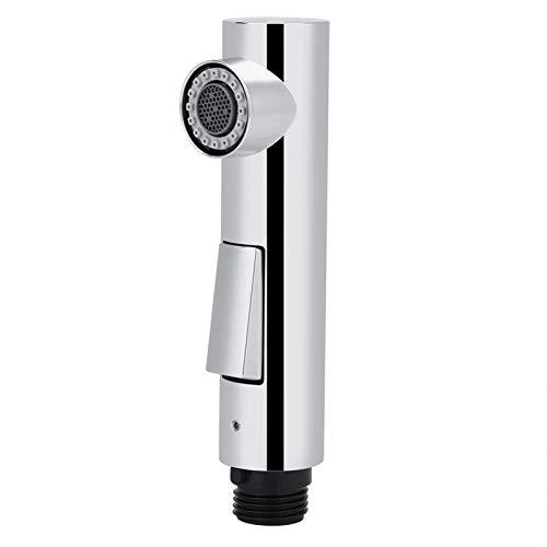 Extraiga la cabeza del rociador del grifo giratorio de 360 grados del lavabo del baño Accesorio del cabezal del rociador del grifo Cabezal de rociador plateado Grifos del fregadero de la cocina Cabe