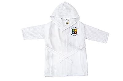 V.I.P. Baby 100% Cotton Hooded Waffle Terry Bathrobe
