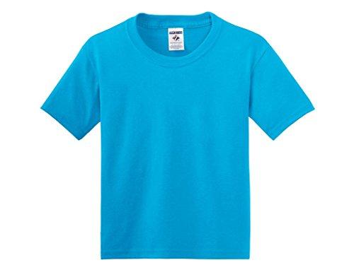 Jerzees jer04665T-Shirt Youth groß California Blau