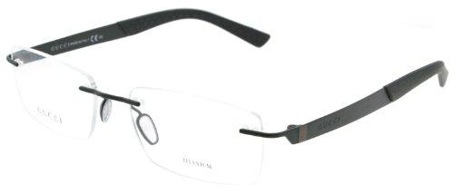 Gucci 2239 Web Semimatte Black Titangestell Brillen