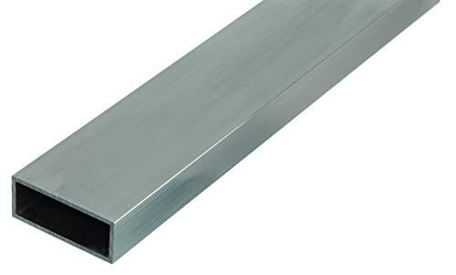 GAH-Alberts 472979 Rechteckrohr   Aluminium, natur   1000 x 50 x 20 mm