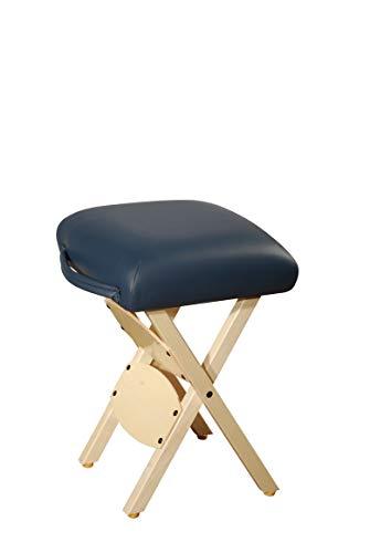 Master Massage Arbeitshocker Klapphocker Klappstuhl für Massageliege Hocker America Brand Königblau