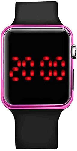 Mano Reloj Reloj de pulsera Relogio Digital Digital Mirror Reloj Digital Hombres Mujeres Led Deporte Reloj electrónico Reloj Mens Relojes Para Mujeres Relojes Pareja Reloj Relojes Decorativos Casuales