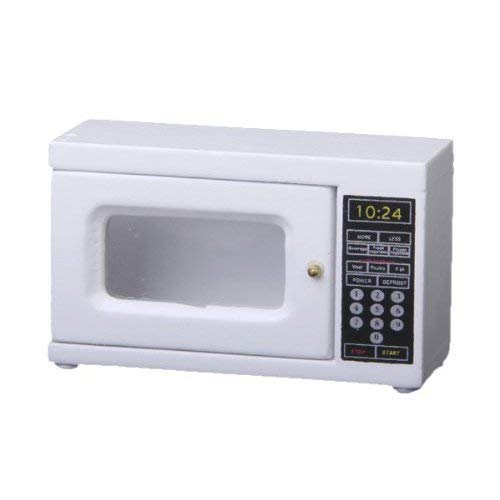 CuteExpress Dollhouse Microwave Oven Mini Kitchen Appliance 1:12 Doll House Accerrories Dining Room Small Decoration