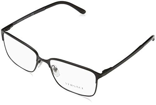 Versace Herren 0Ve1232 Brillengestell, Schwarz (Matte Black 1261), 54