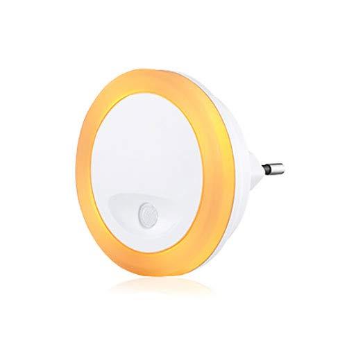Müller-Licht casalux LED sensor nachtlampje rond Amber extra warm wit schemeringssensor oriëntatielicht
