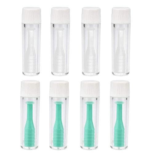 AODOOR Kontaktlinsen Entfernen Einfach Entfernungswerkzeug Silikon linsensauger RGP Kontaktlinsen Inserter Remover Kontaktlinse Saugnapf mit Flasche, für Harte und weiche Kontaktlinsen