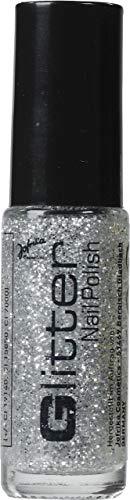 Jofrika Cosmetics Glitter Nail Polish Nagellack Silber