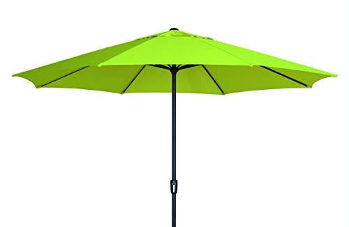 Madison XXL Sonnenschirm Sumatra 400 Apple Green, mit UV-Schutz 40 Plus