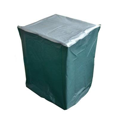 LICCC Cubierta de los Muebles Cubiertas Aire Libre Muebles de jardín, Muebles de jardín de la Guardia, Guardia, Telas (Color : Green, Size : 64X64X100cm)