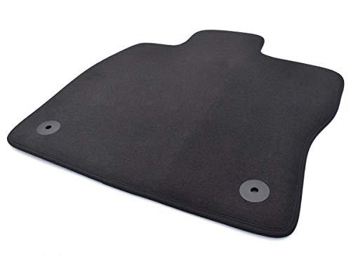 Fußmatte passend für Golf 7 VII Velours Automatte Fahrermatte einzeln Fahrerseite schwarz