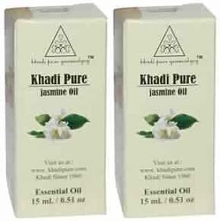 Khadi Pure Herbal Jasmine Essential Oil - 15 ml (Set Of 2)