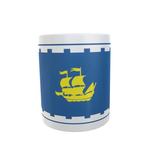 U24 Tasse Kaffeebecher Mug Cup Flagge Quebec City