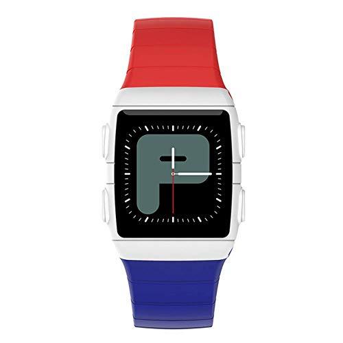 ZHENAO Cr11 Smart Watch, Rastreador de Fitness Multifunción de 1.3 Pulgadas Monitor de Ritmo Cardíaco Ip68 Relojes Deportivos a Prueba de Agua, Plataforma Compatible Android 5.1, Io
