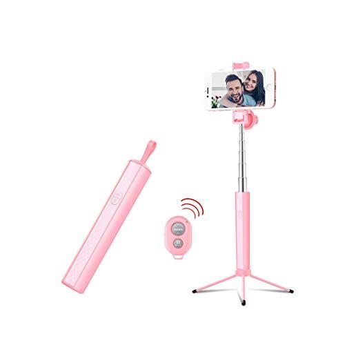 Xxw lamp Selfie Stick Fotocamera con Telecomando Bluetooth Integrato Artefatto Telefono Cellulare Fotografia dal Vivo Treppiede Controllo di Linea Lungo