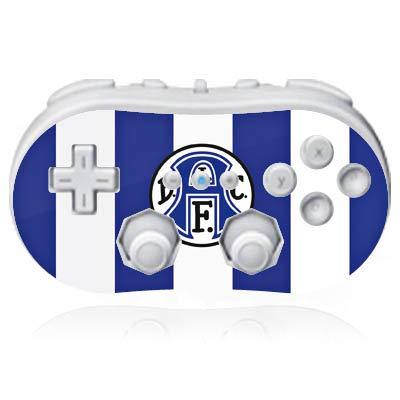 DeinDesign Skin kompatibel mit Nintendo Wii Classic Controller Folie Sticker DSC Arminia Bielefeld Offizielles Lizenzprodukt