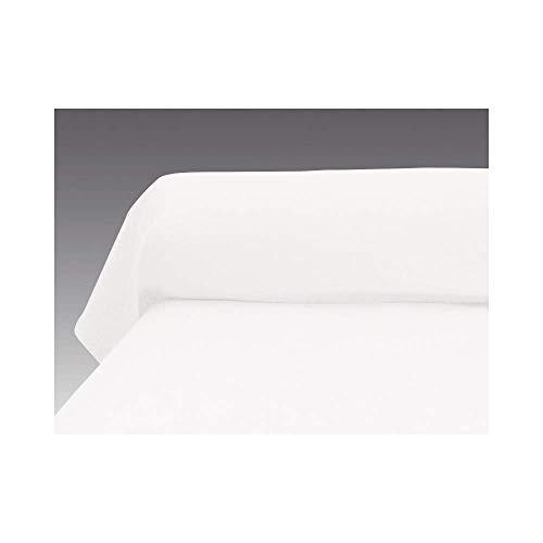 Atmosphère Taie de traversin uni 85x185 cm ATMO blanc