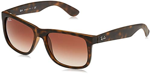 Ray-Ban Justin RB4165 - Gafas de sol Unisex, Marrón (Brown...