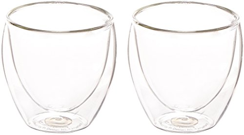 Bodum Pavina 2.5oz 2pk Double Wall Shot Glasses