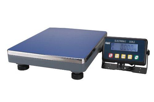 G & G PSE 200kg/10g Paketwaage Plattformwaage Digitalwaage Industriewaage/Batteriebetrieb möglich Scale