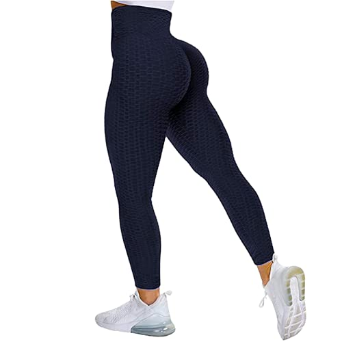 QTJY Leggings sin Costuras para Mujeres, Pantalones de Yoga Push-up elásticos y de Secado rápido, Cintura Alta, Sentadillas, Leggings para Correr ML
