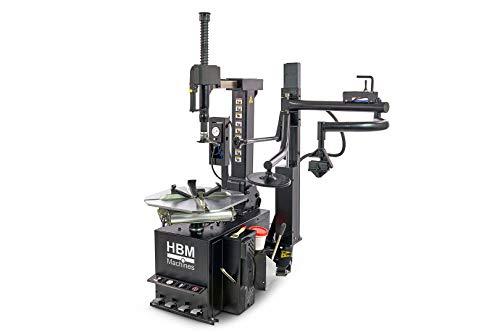 """HBM Profi Reifenmontiermaschine 10\'\' - 24\'\' Reifen Montiermaschine mit Hilfsarm 10-24\"""", einfache Bedienung, robuste Technik"""