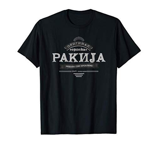 Serbischer Schnaps Srpska Rakija T-Shirt